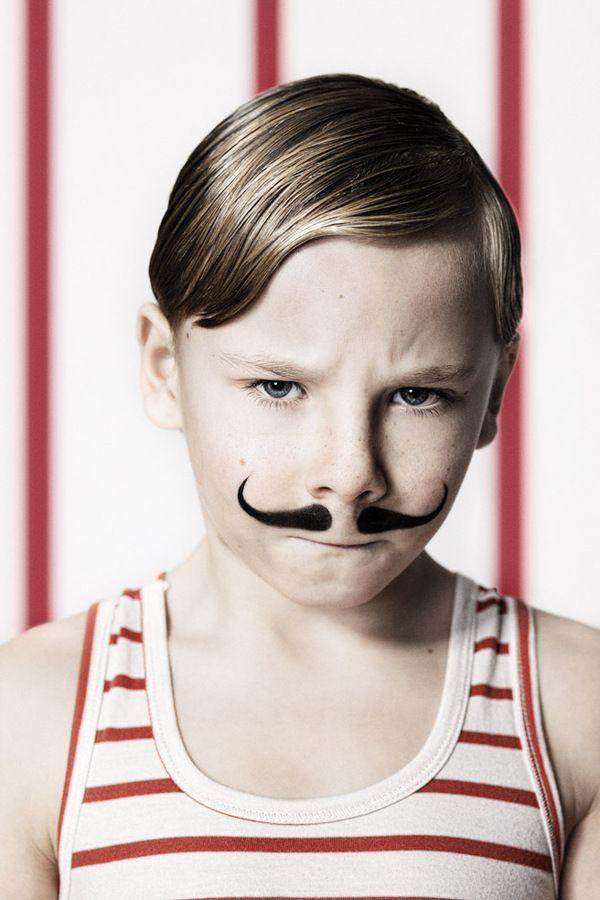 "Circus by Hotpotck , via Behance--cute halloween custome for little boy, ""circus muscle man"""