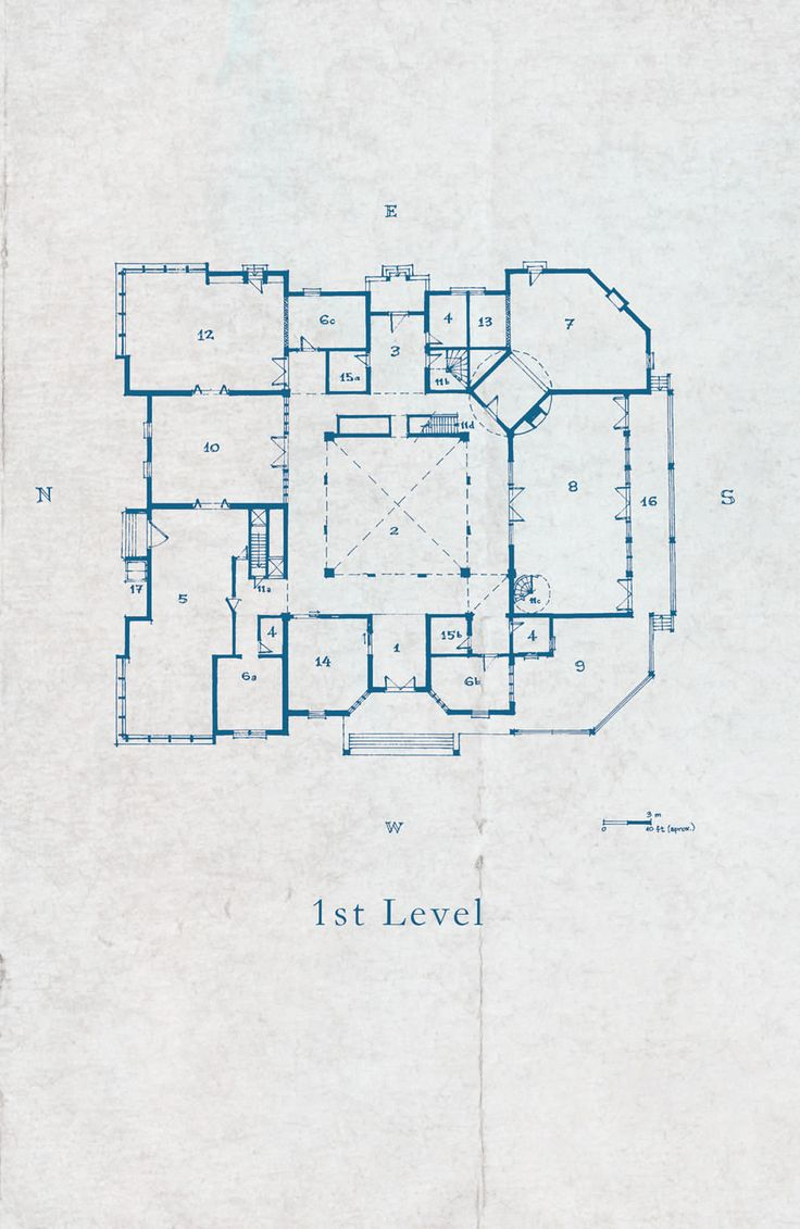 1000 images about architecture on pinterest house plans for Manor blueprints