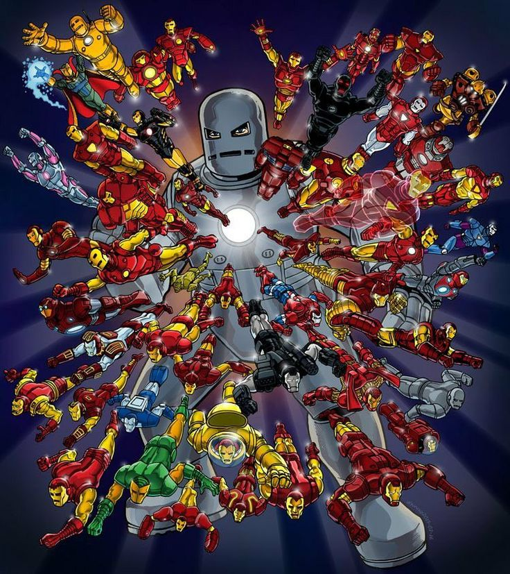 Iron Man Collection.......