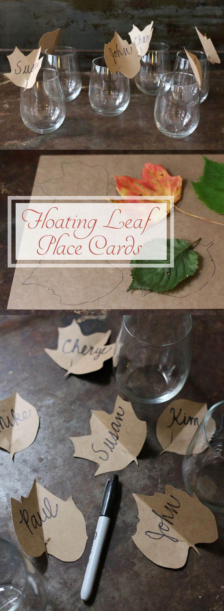 Place cards fall table and thanksgiving dinners on pinterest