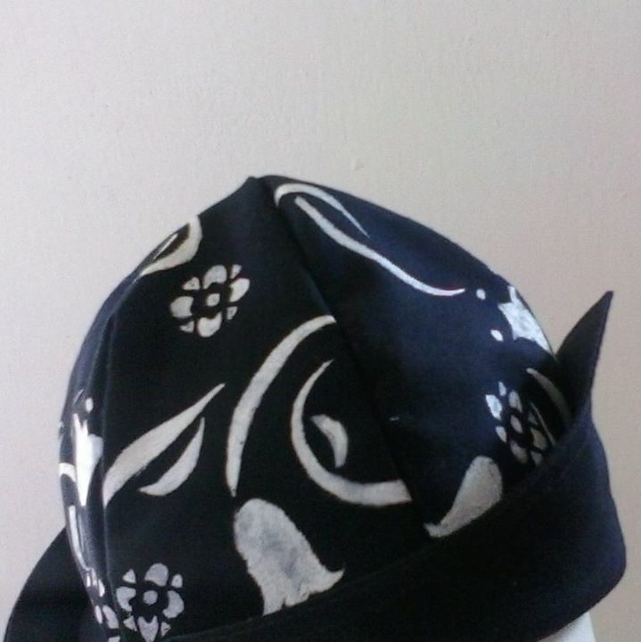 Hat hand painted