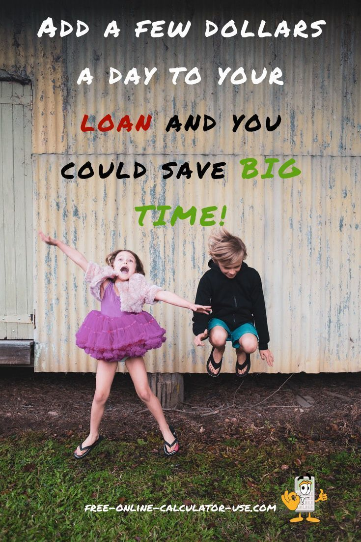This Calculator Will Show You How Adding Just A Few Dollars A Day To Your Loan Payment Can Pay Off Big Time I Loan Payoff Mortgage Payment Calculator Payoff