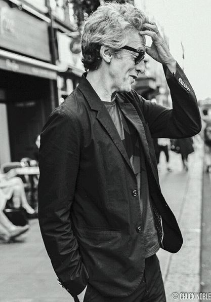 Peter Capaldi - 2016.  #thethickofit...