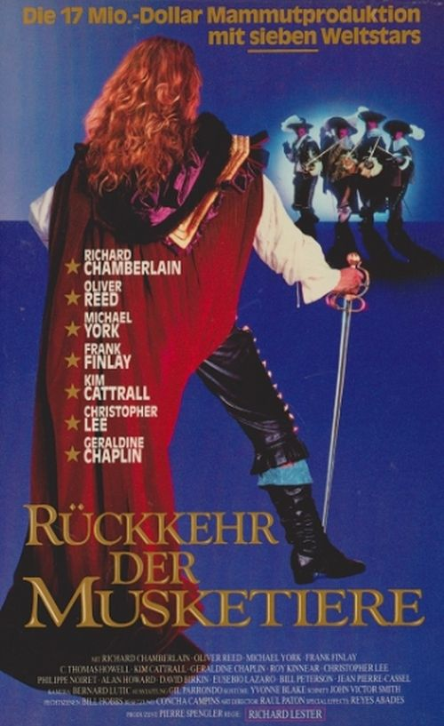 Watch The Return of the Musketeers (1989) Full Movie Online Free