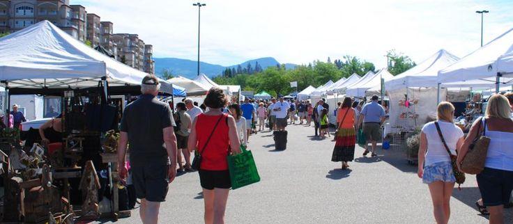 Kelowna Farmer's Market, near Mission Creek Park