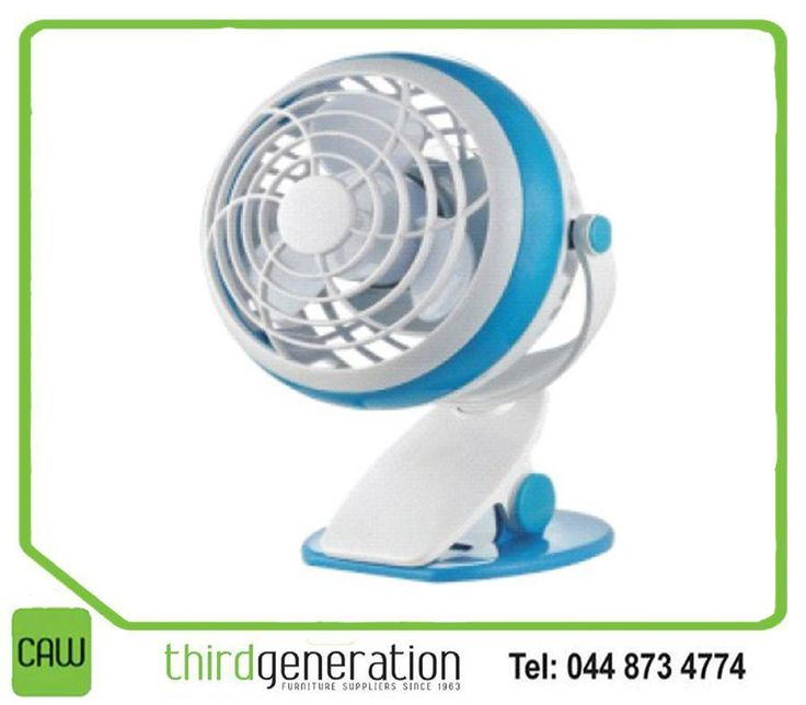 Keep yourself cool and collected at the office with an awesome #Goldair USB table clip fan from #CAW3G. #3rdGen #lifestyle