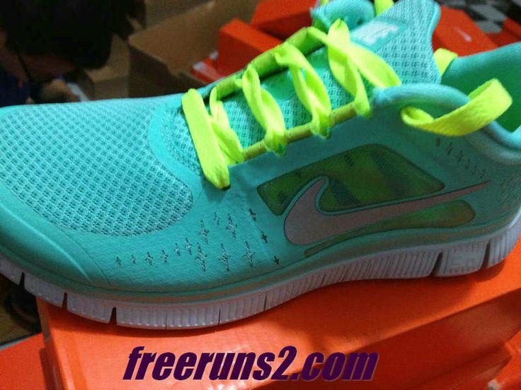 Nike Free Run 3 Ukelele Vert Menthe