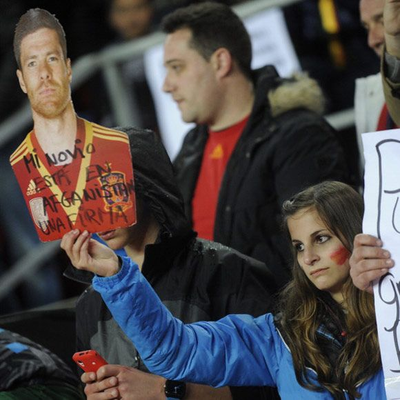 Bola.net: Suporter Elok Piala Dunia 2014: Spanyol