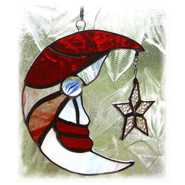 Images about stained glass santa s on pinterest