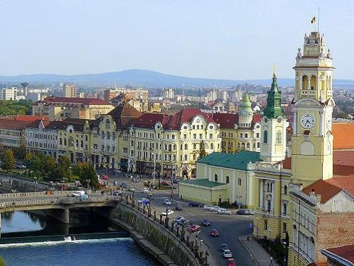 Oradea, Romania. I've been to this city twice and once stayed in a bath house. I love it.