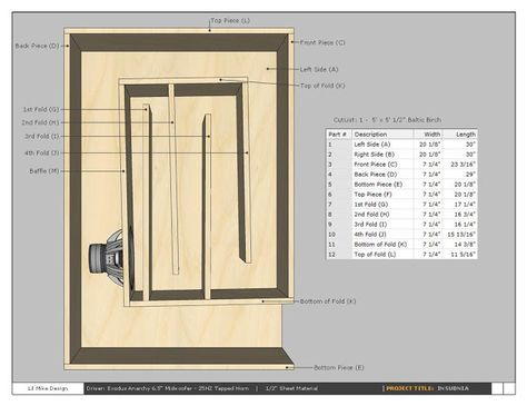 Reed Exodus Anarchy 25hz Tapped Horn - AVS Forum | Home Theater Discussions And Reviews