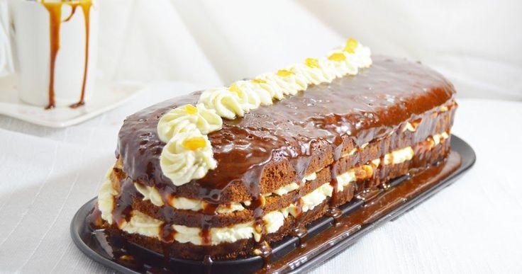 tort, caramel, tort cu caramel, tort cu crema de branza,