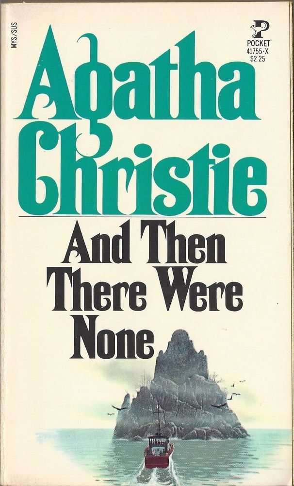 agatha christie and then there were none english literature essay Starting an essay on agatha christie's and then there were none organize your thoughts and more at our handy-dandy shmoop writing lab  literature / and then .
