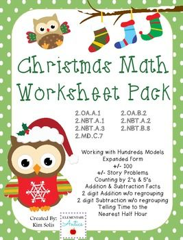 17 Best ideas about Christmas Math Worksheets on Pinterest ...