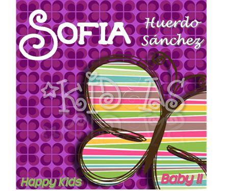 Mariposa Purple #back2school #etiquetas #escolares #stickers #etiquetatodo #maskideas