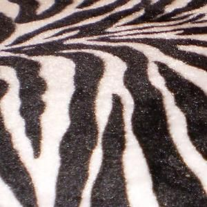 2 Zebra Print 29'' Specialty Chrome Barstools Bar Stools
