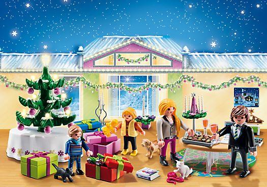 Playmobil - Christmas Room with Illuminating Tree - Advent Calendar