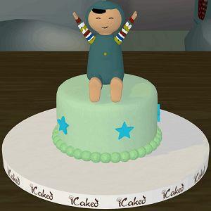 pepe doğum günü pastası, özel tasarım çocuk pastaları, icaked pepe butik pasta, ankara butik pasta