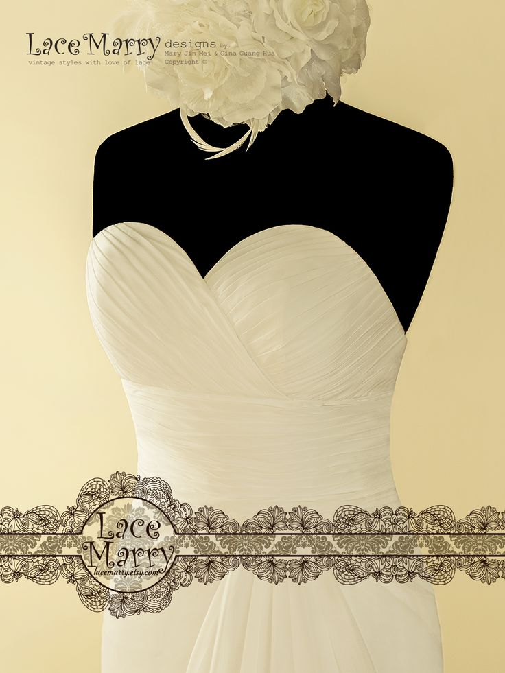 Sexy Sweetheart Neckline with Criss-Cross Ruching Design is combined with Deep V Cut Open Back!!!