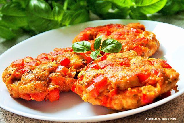 Kulinarne Inspiracje Futki: Paprykowe placuszki z kurczaka