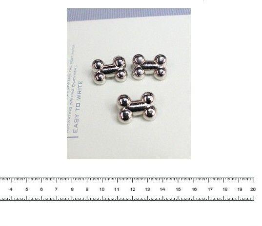 Gratis verzending 50 stuks r95 19mm puppy botten klinknagels, punk stud spikes, diy accessoires materialen in van op Aliexpress.com