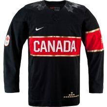 IIHF Team Canada 2014 Olympic Jersey - Black
