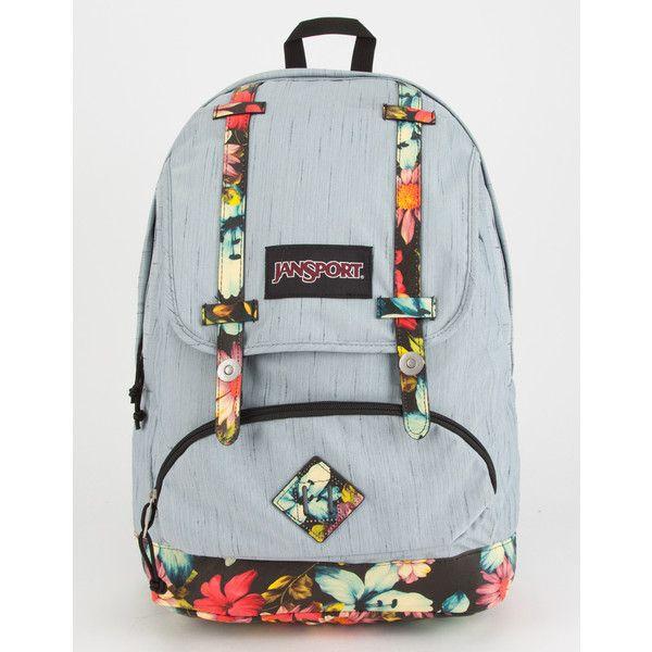 Jansport Baughman Backpack ($60) ❤ liked on Polyvore featuring bags, backpacks, jansport rucksack, rucksack bags, knapsack bag, day pack backpack and jansport backpack
