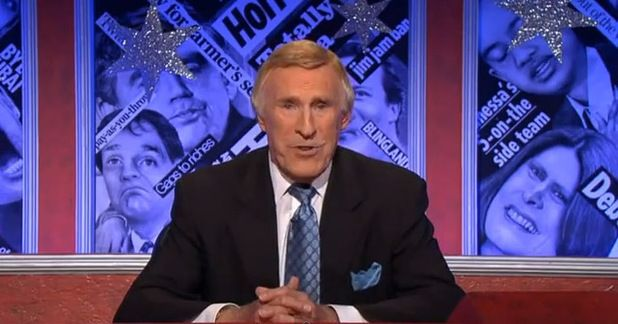 Bruce Forsyth acted as guest host for BBCs Have I Got News For You twice, once in 2003 and again in 2010