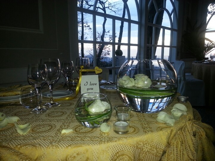 Wedding table..to Villa Pocci Castel Gandolfo!