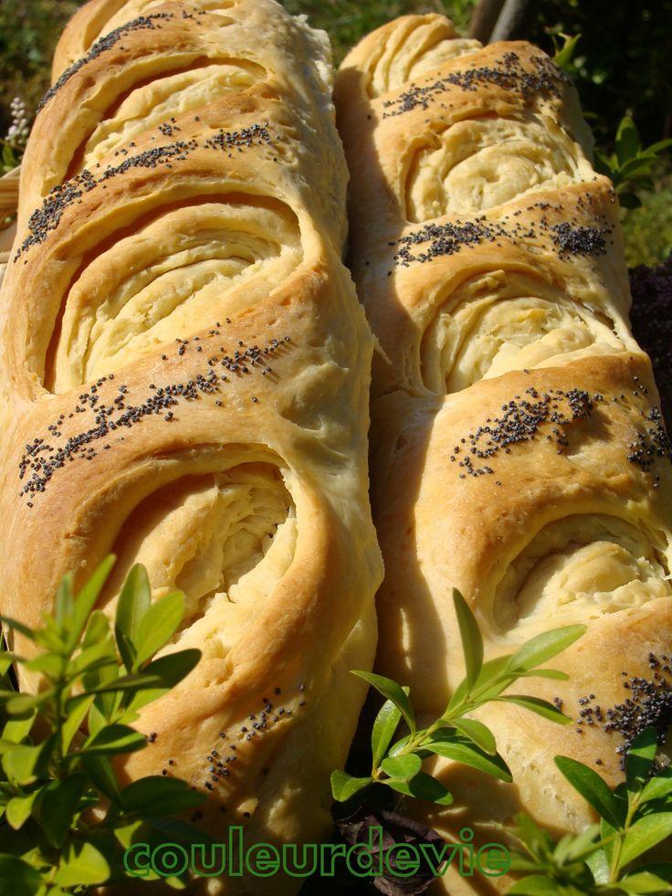 Baguettes feuilletées «tourbillon   «Couleurdevie