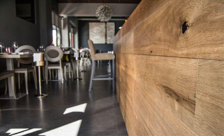 Elementos decoración, revestimiento con tarima #Vetaparket
