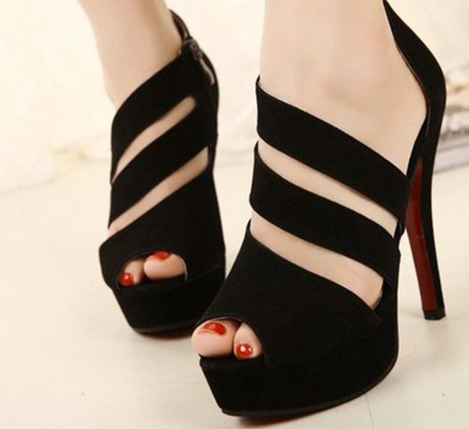 New 2014 Summer Women Pumps Sexy High Heel Roman Shoes Sapatos Femininos Platforms & Wedges  Woman Party  Pumps