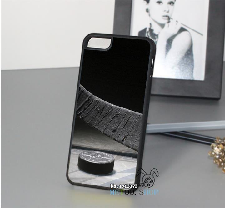 Шайба хоккейная клюшка мода оригинальный сотовый телефон чехол для 4 4S 5 5S 5C 6 6 плюс 6 s 6 s плюс и op5984