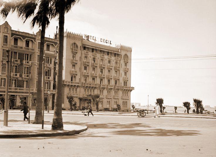 Cecil Hotel, Alexandria, circa 1940's