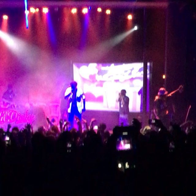 Lil Dicky, Iamsu!, Lil Dicky & Iamsu! performed on Thursday at The Observatory