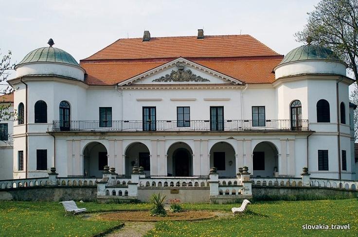 Slovakia, Michalovce - Manor-house