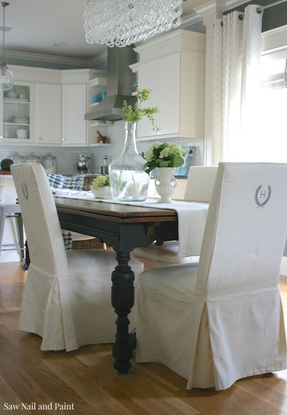 Vintage Draw Leaf Table with chairs