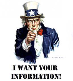 I want ur information - know what could happen to information you give to scholarship search engines before you hand it over