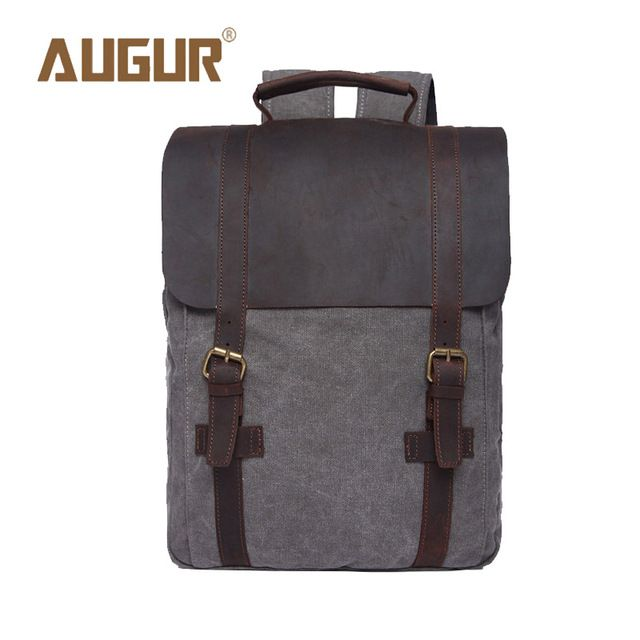 Special offer AUGUR Brand New Fashion Mens Designer Backpack Laptop Backpack Canvas Backpacks For Teenage Girls School Bags HT100583 just only $37.25 with free shipping worldwide  #backpacksformen Plese click on picture to see our special price for you