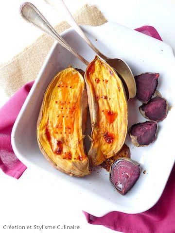 Si vous ne voulez pas vous embêtez à préparer un accompagnement et en surveiller la cuisson : optez pour la patate douce et/ou la betterave au four!