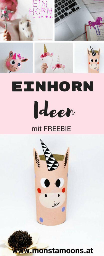 Einhorn, Einhorn und nochmal Einhorn – coole DIYs zusammengefasst