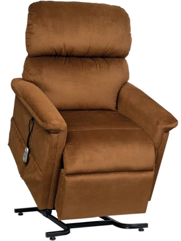 enjoy the comfort and convenience of a lift chair in a luxurious model that comes standard