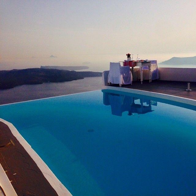 CHROMATA Hotel, Santorini |  Dinner by Andrey @viper093 | Websta