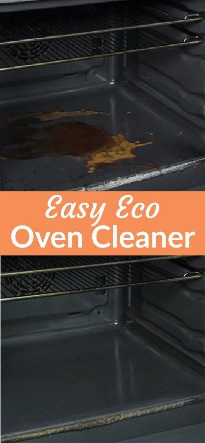 An Insanely Easy Eco Oven Cleaner
