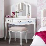 Model Meja Rias Klasik Putih
