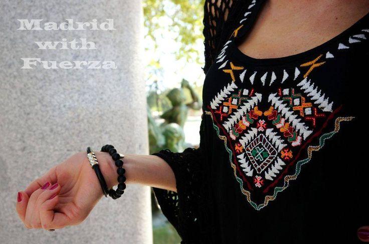 Bransoleta Fuerza - ze skóry i stali szlachetnej z magnetycznym zapięciem. #fuerza #stylizacja #collection #kolekcja #fashion #stylization #kobieta #look #bransoletki #bransoletka #bransolety #bracelets #bracelet #jewelry