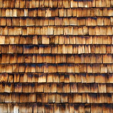 Wood Shingle Roofing. Those have real character