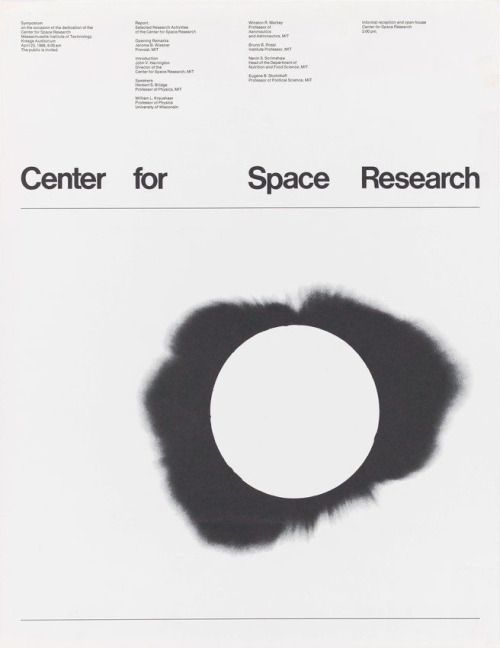 Jacqueline Casey / Institute of Technology / Poster for Center...
