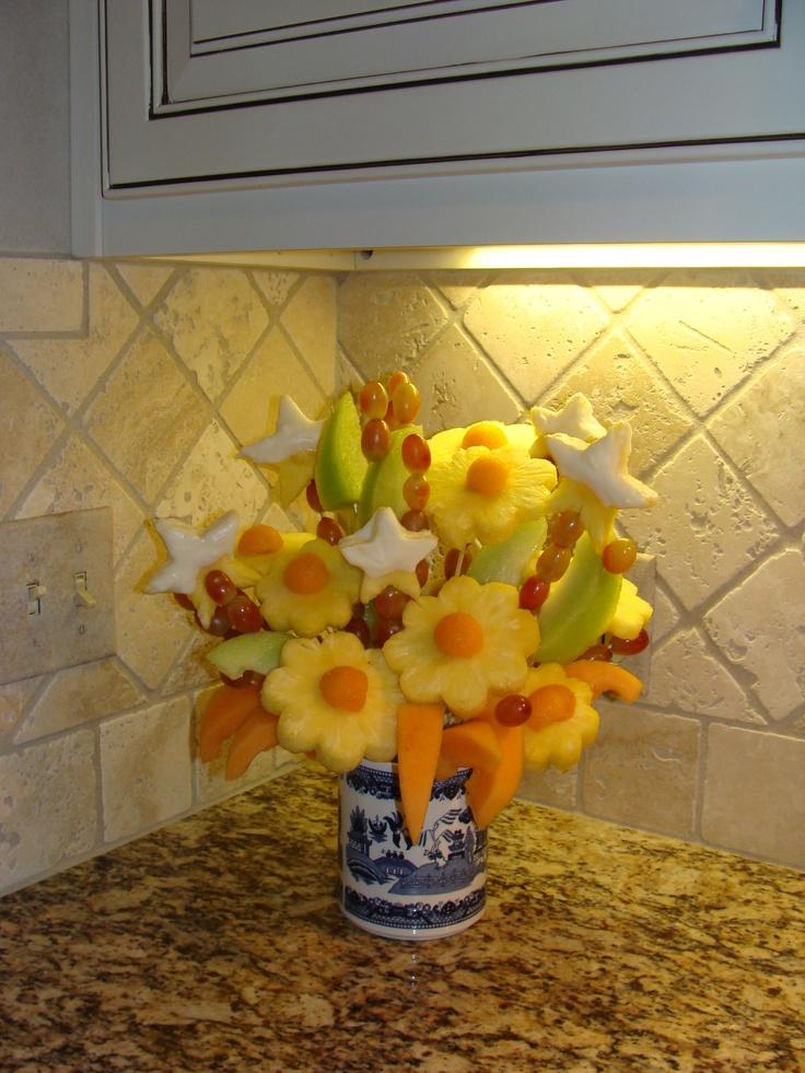 bouquet de fruits ca se mange ou a se boit et astuces pinterest bouquets and fruit. Black Bedroom Furniture Sets. Home Design Ideas