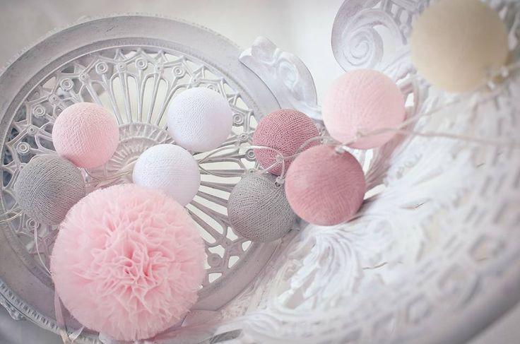 Cute Cotton balls light